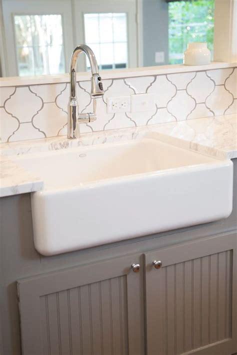 white arabesque tiles transitional kitchen hgtv