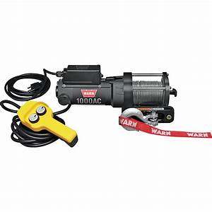 Warn 120 Volt Ac Powered Electric Utility Winch  U2014 1 000