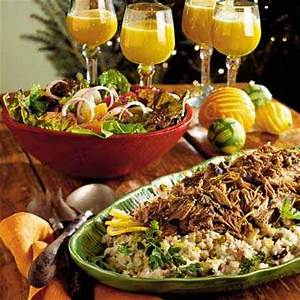Traditional Christmas Dinner Menus & Recipes