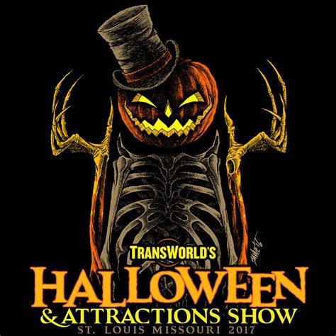 Best Halloween Attractions 2017 the halloween amp attractions show t shirt 2017 transworld
