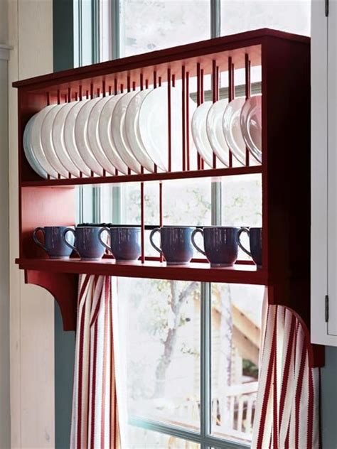 creative ideas  organize dish  plate storage   kitchen shelterness