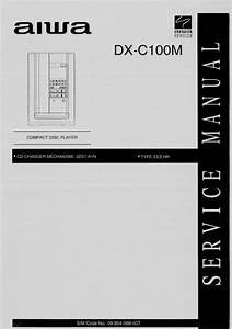 Aiwa Dx-c100m Service Manual
