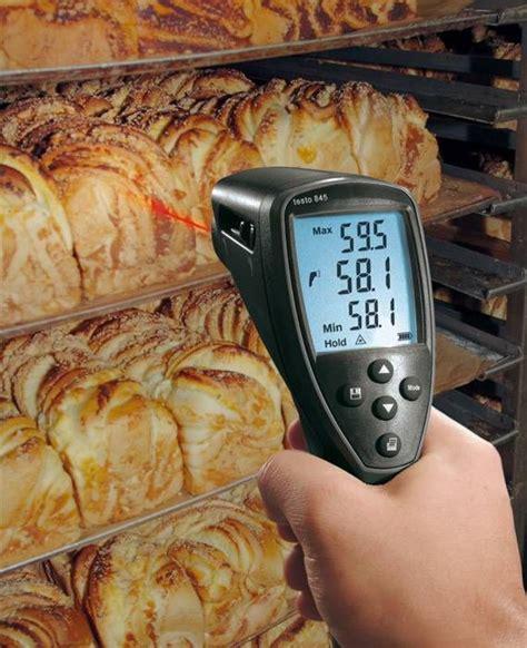 thermometre infrarouge cuisine thermomètre infrarouge testo 845 mesure de température