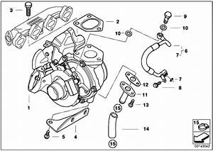Original Parts For E90 320d M47n2 Sedan    Engine   Turbo