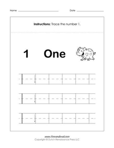 number 1 activities for preschoolers number 1 worksheet tim s printables 731