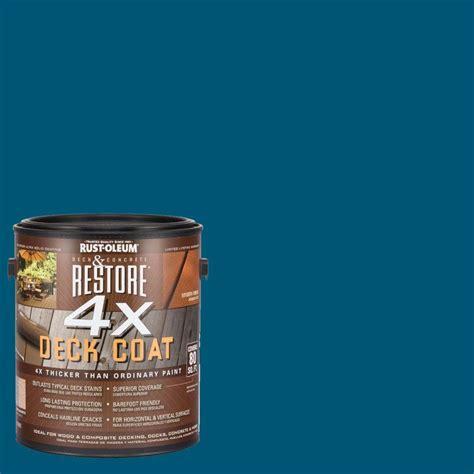 rust oleum restore  gal  lagoon deck coat