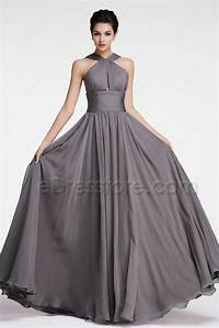 halter charcoal bridesmaid dresses With charcoal dresses for weddings