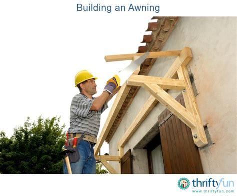 building  awning thriftyfun