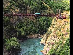 Bungy Jumping-New Zealand - YouTube