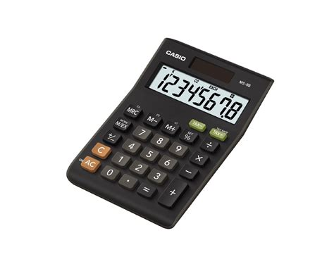 Casio Desk Calculator by Casio Ms8b Large 8 Digit Multi Function Tax Vat Desk