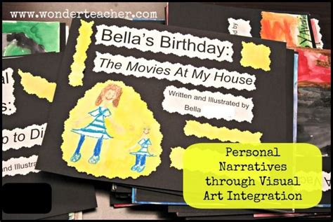 personal narratives  visual art integration