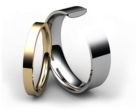 palladium flat court wedding ring bijoux jewels
