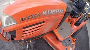 Kubota Bx2350 - Running Hot Issues Solved