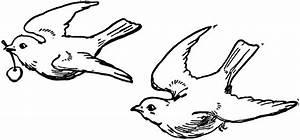 Black And White Bird Clip Art - Cliparts.co