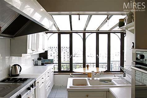 baie de cuisine cuisine et baie vitrée c0180 mires