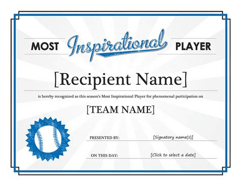stunning certificate  award template word examples