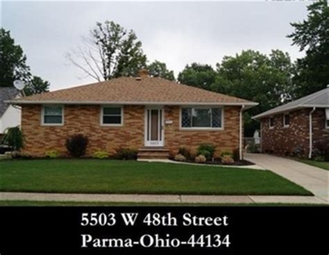 Houses For Sale In Parma Ohio - cleveland ohio homes for sale 5503 w 48th st parma