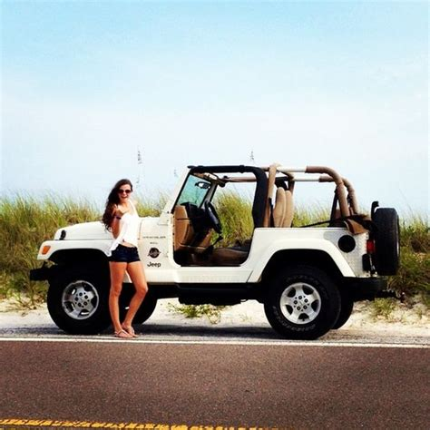 White Jeep Wrangler I Love This So Cute Need To Do