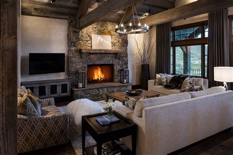 16 Sophisticated Rustic Living Room Designs You Won't Turn