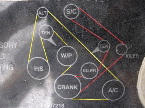 Series Belt Diagram Forum Buick Cadillac