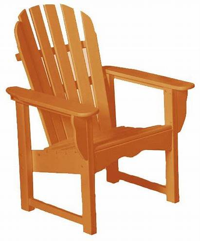 Chair Clipart Lawn Wooden Garden Patio Outdoor