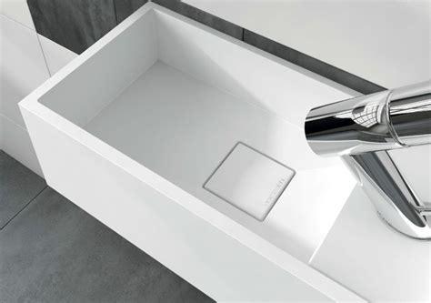 Vanités Définition by Lave Mains Type Corian 20 Cm En R 233 Sine Solid Surface