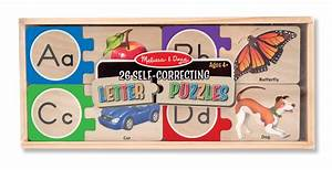 melissa doug letter puzzles the cozy corner With melissa and doug self correcting letter puzzle