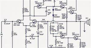 Wiring  U0026 Diagram Info  100w Subwoofer Amplifier