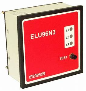 Elu96n3 Phase Earth Fault Detector And Lights For Kpm161 With Led Indication Selco Usa