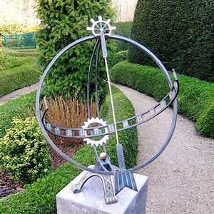 Windräder Für Den Garten : sonnenuhr bausatz f r den garten archimedes ~ Orissabook.com Haus und Dekorationen