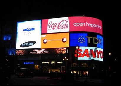 Advertising Signs Marketing Direct Piccadilly Circus Indirect