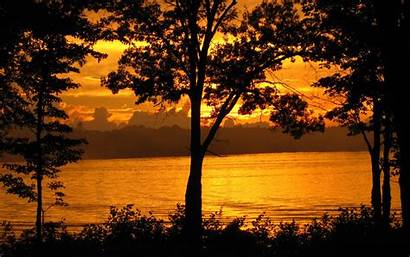 Nature Sunset Night Landscape During Slike Prirode