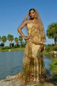 african wedding dress golden prints fmagcom With african print wedding dresses