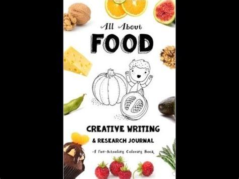 food creative writing journal  sarah brown