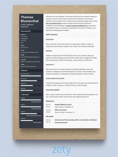 resume styles  suited     tips