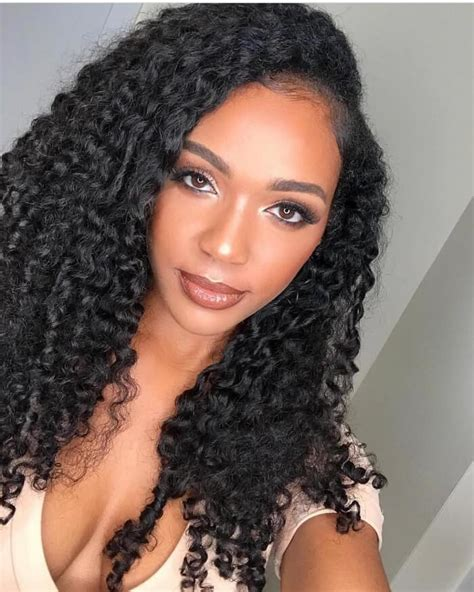 curly hairstyles  black women  enhance beauty sensod