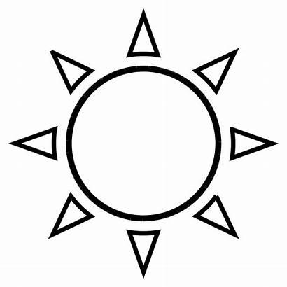 Sun Outline Clip Svg Onlinelabels
