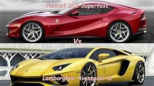Ferrari Vs Lamborghini : lamborghini avendator s vs ferrari 812 superfast youtube ~ Medecine-chirurgie-esthetiques.com Avis de Voitures