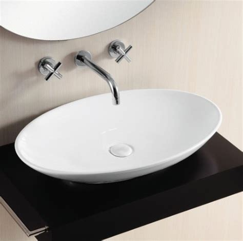 white oval vessel sink oval white ceramic vessel bathroom sink contemporary