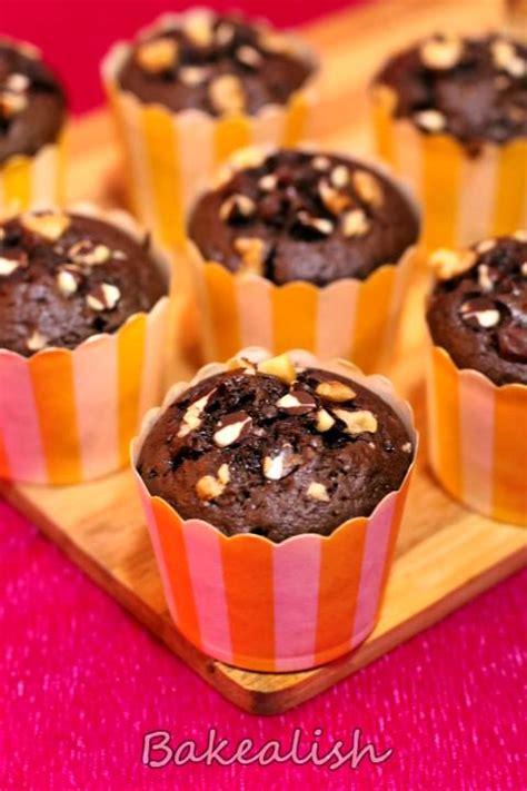 1 tsp vanilla extract 1 tsp instant coffee powder/granules Chocolate Coffee Walnut Cupcakes - Easy Cupcake Recipes