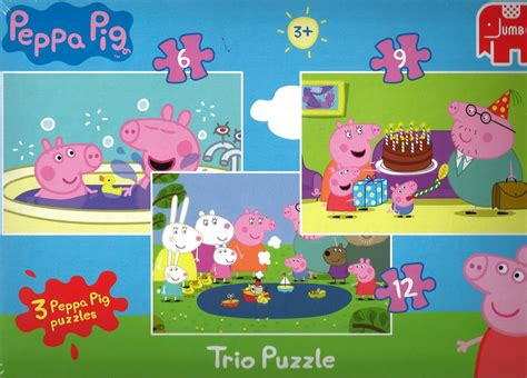 tappeto puzzle peppa pig children s puzzles page 14 of 34 barneys news box