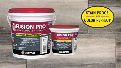 fusion pro grout colors fusion pro 174 grout is stain proof and color