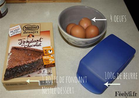 fondant chocolat nestle dessert fondant au chocolat nestl 233 dessert f 233 elyli