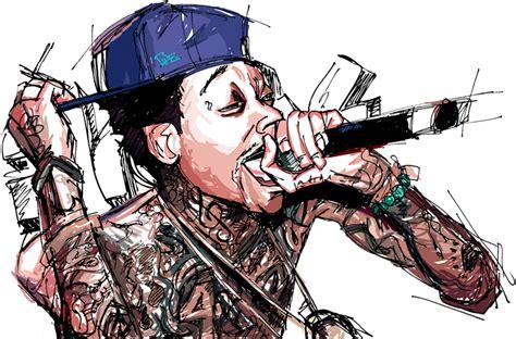 Cartoon Pictures Wiz Khalifa