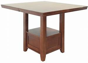 Signature Design By Ralene Counter Height Dining Room Table Ralene Rect Drm Counter Ext Table D594 42 Tables