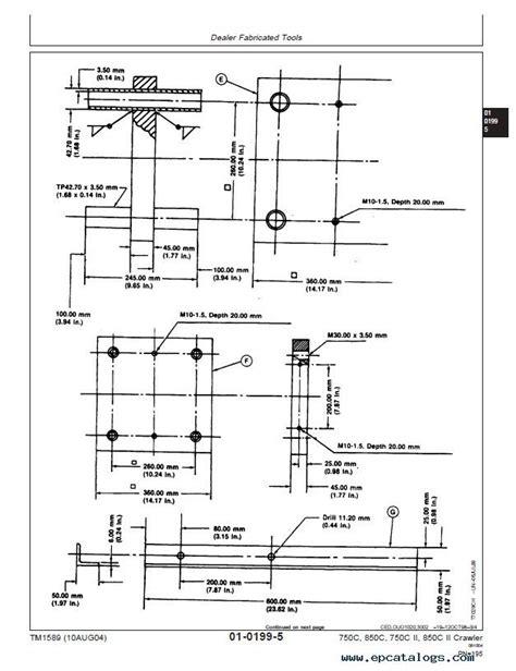 Deere 750c Wiring Diagram deere 750c 850c 750c ii 850c ii dozer pdf manual