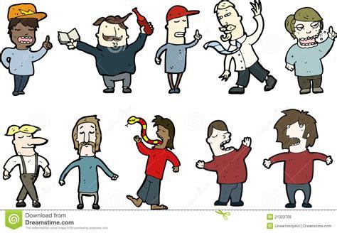 Cartoon People Stock Illustration. Image Of People
