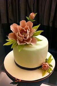 Peony, Cake, -, Cake, By, R, W, Cakes