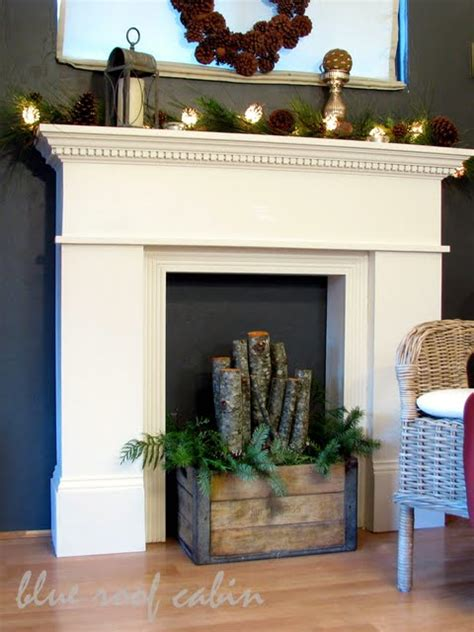 diy fireplace mantel blue roof cabin diy mantel