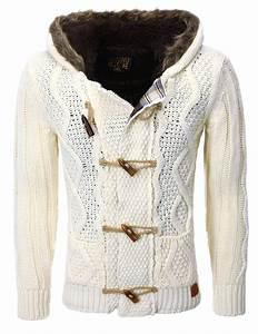 Veste En Laine Homme : gilet capuche homme blanc pas cher 543 pour ~ Carolinahurricanesstore.com Idées de Décoration